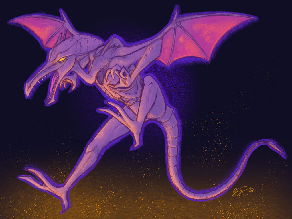 Ridley for Smash by hevromero