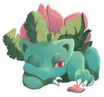 ivysaur by Arzefiel