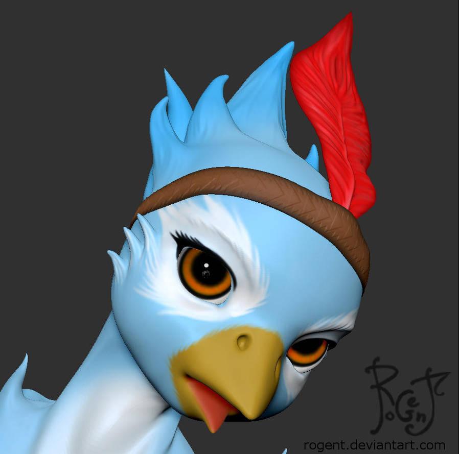 Avian WIP 006 by Rogent