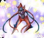 Deoxys Cosmic Power2 by EvanRank