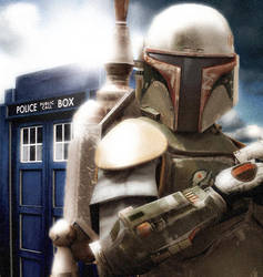 Star Wars vs Doctor Who by caysipena