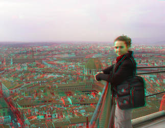 Florence 4 3D Anaglyph by yellowishhaze
