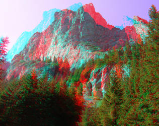 The River2 3D Anaglyph by yellowishhaze