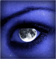 Moon angel by riamali