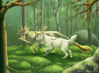 Forest Guardians by Pushdug