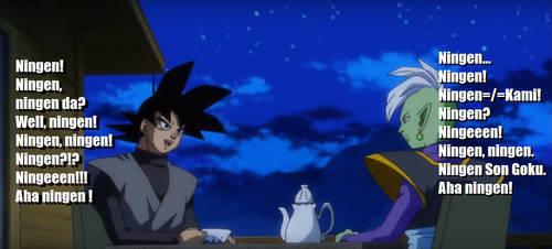 Zamasu and Zamasu Talking by JStarsProject