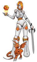 Neoncon Mascot by lyteside