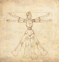 N4omi Vitruvian by lyteside