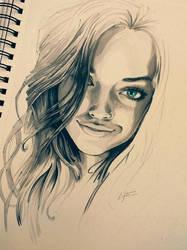 Underlighting Portrait Study by lyteside