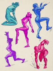 Gestures 02 by lyteside