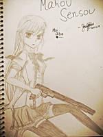 Mui Aiba (that doesn't look like her xD) by Mesaku18