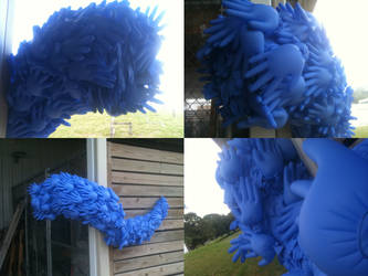 Modular Madness - Blue Surgical Gloves by TheAnthonyE