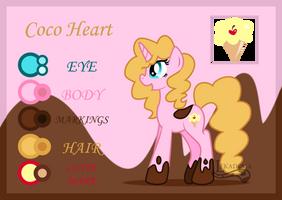 Ref: coco heart by lekadema