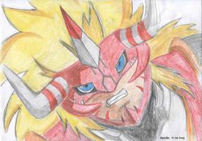 Agnimon of Fire by parsek76