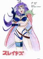 Slayers - Naga White Serpent 2 by parsek76