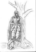 Hooded Warrior by parsek76