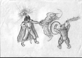 iron vs magic by parsek76