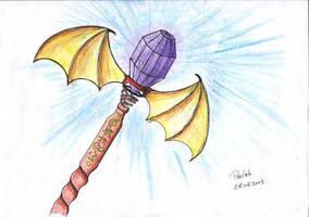 winged rod by parsek76