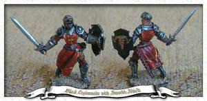 Black Legionnaire with Sword by parsek76