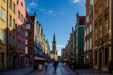 Long Lane in Gdansk by parsek76