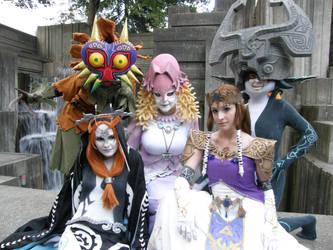 Ladies of LoZ - PAX 2012 by nwpark