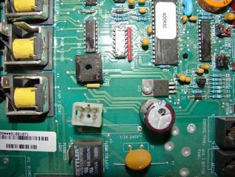 Computer Circuit Board by FantasyStock