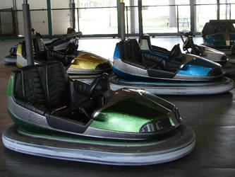 Amusement Park Bumper Cars 6 by FantasyStock