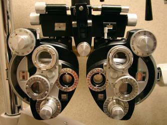 Ophthalmological Phoroptor 3 by FantasyStock