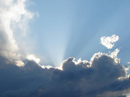 Wild Blue Yonder Sky Clouds 20 by FantasyStock