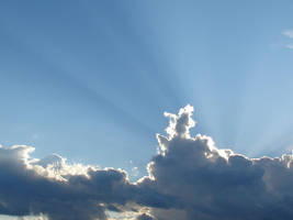 Wild Blue Yonder Sky Clouds 23 by FantasyStock