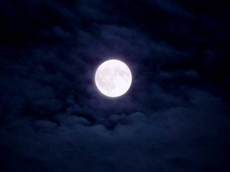 Blue Moon Skyscape by FantasyStock
