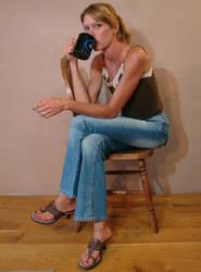 Danielle Power Coffee Mug 02 by FantasyStock