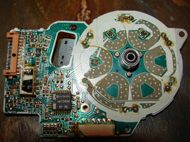Hitachi Radio Circuit Board by FantasyStock