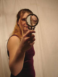 Jodi Magnifying Glass 1 by FantasyStock