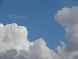 Wild Blue Yonder Sky Clouds 32 by FantasyStock