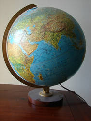 Globe of the Earth by FantasyStock