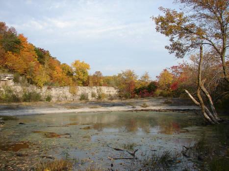 Autumn Cliff Stock Scenery 22 by FantasyStock