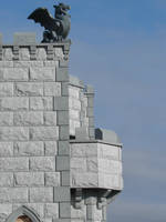 Castle Wall Gargoyle 2 by FantasyStock