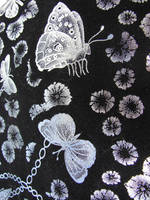 Velvet Butterflies Texture by FantasyStock