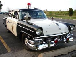 Vintage Police Car 1 by FantasyStock