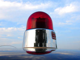 Red Police Light by FantasyStock