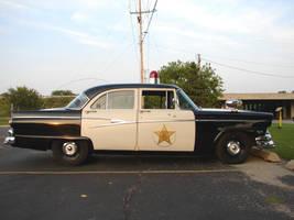 Vintage Police Car 4 by FantasyStock