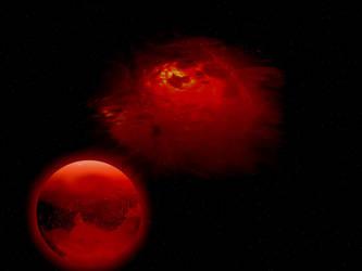 Premade Nebula Spacescape by FantasyStock
