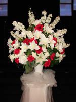 Silk Floral Wedding Boquet by FantasyStock