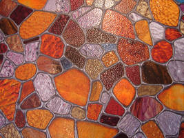 Stained Glass Pebble Texture 1 by FantasyStock