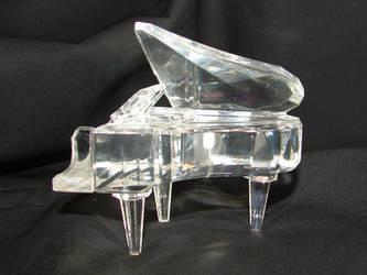 Crystal Grand Piano 1 by FantasyStock
