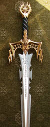 Golden Rune Sword by FantasyStock
