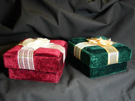 Velvet Gift Boxes 1 by FantasyStock