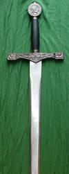 King Arthur's Excalibur Sword by FantasyStock