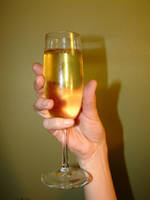 Champagne Glass in Hand 6 by FantasyStock